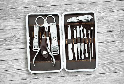 Kit 12 Piezas Manicure, Pedicure, Uñas, Manos y Pies