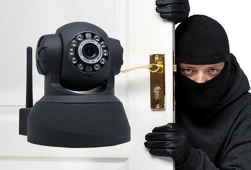 ¡Vigila desde donde Quieras! Cámara Giratoria de Vigilancia