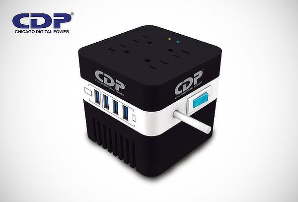Estabilizador de 4 Puertos USB + Regalo y Más