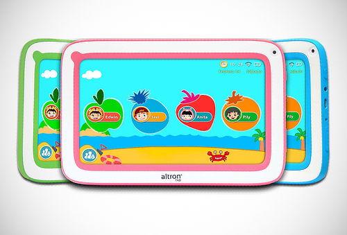 """Tablet de 7"""" para Niños, Android 4.4 + 13 Aplicaciones"""