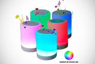 Lámpara Led Parlante Bluetooth con Contestador de Llamadas