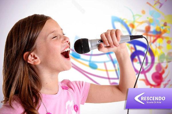 4 Clases de Canto para Niños en CRESCENDO Scuola Di Arte