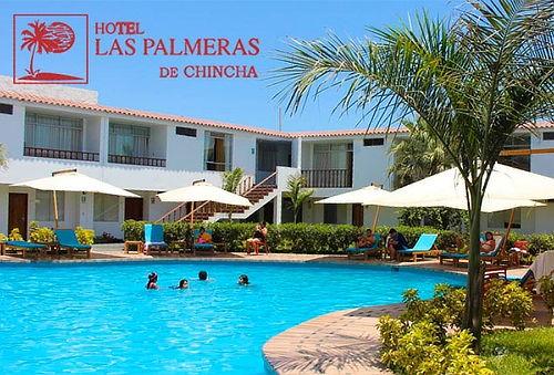 01 ó 02 Noches en Hotel Las Palmeras de Chincha