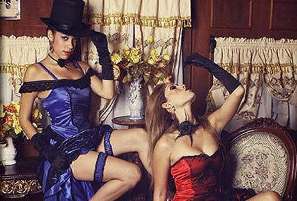Sesión Fotográfica Estilo Moulin Rouge - El Álbum del Abuelo