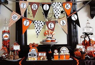 CANDY BAR HALLOWEEN: Torta + Cupcakes + Paletas y Más
