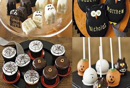 ¡Para Halloween! Mini Torta + 6 Cupcakes + 6 Cakepops