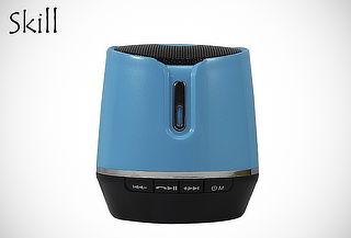 Parlante Barril SKILL® Bluetooth + Radio FM 50%