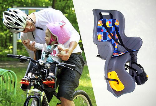 Silla Porta Bebé para Todo Tipo de Bicicleta