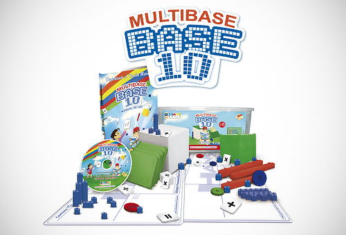 ¡Exclusivo! Multibase Base 10 Didáctico para Niños