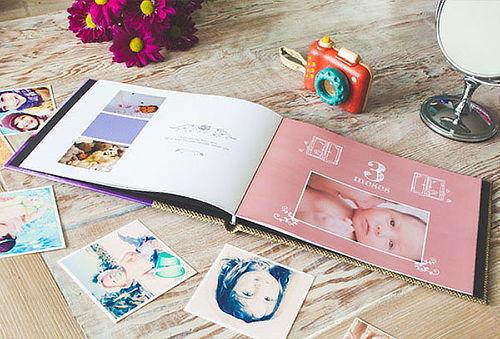 Photobook Premium: Tapa de Cuero y 26 Páginas - Mi Fotofoto