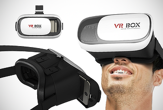 Lentes de Realidad Virtual Box VR-06 para IOS y Android