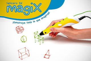 ¡Imagina, Dibuja y Construye! Lapicero 3D MagiX