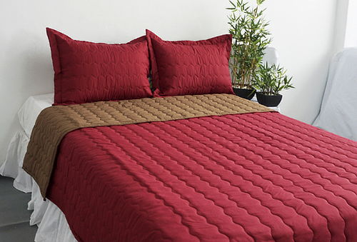 ¡Renueva tu Dormitorio! Cobertores Bicolor - Arlin