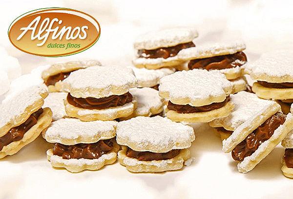 ¡Deliciosos! Caja de 16 Alfajores de Manjar Blanco - ALFINOS