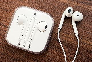Audífonos EarPods Apple Originales con Mando y Micrófono