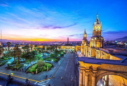 ¡Año Nuevo en Arequipa para DOS! 4D/3N Vuelo + Hotel y Más