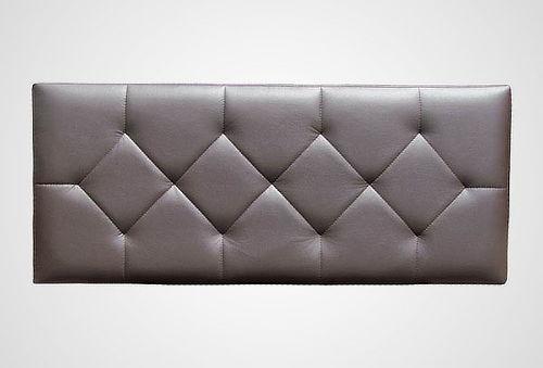 Cabecera de cama tapizado en tama o y color a elecci n - Cabeceras de cama acolchadas ...