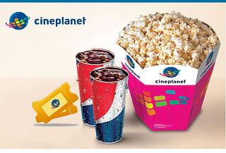 Cineplanet 2D ó 3D + Combo Gigante a Nivel Nacional