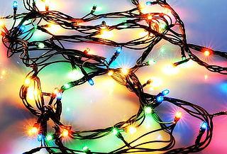 Luces Navideñas Led de 100 ó 200 Focos