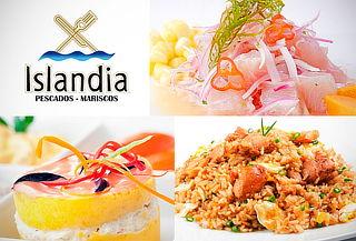¡Delicioso! Buffet Marino y Criollo en ISLANDIA Chorrilos