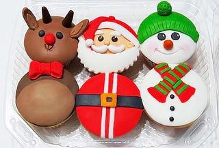 ¡Candy Bar Navideño! Torta + Cupcakes + Paletas y Más