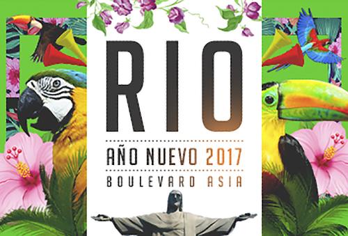 ¡Buenazo! Fiesta RIO Año Nuevo en el Boulevard de Asia