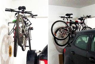 ¡No te Quedes sin Espacio! Rack para 2 Bicicletas de Pared
