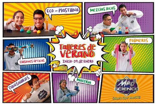 ¡Ciencia Super Divertida! Taller de Verano MAD SCIENCE