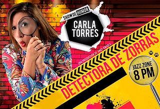 Show de Humor 'Detectora de Zorras' en Jazz Zone