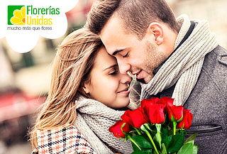 ¡Detalles que Enamoran! 12 ó 24 Rosas en Florerías Unidas