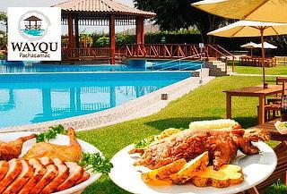 ¡Exquisito Almuerzo Campestre! en Wayqu Pachacamac