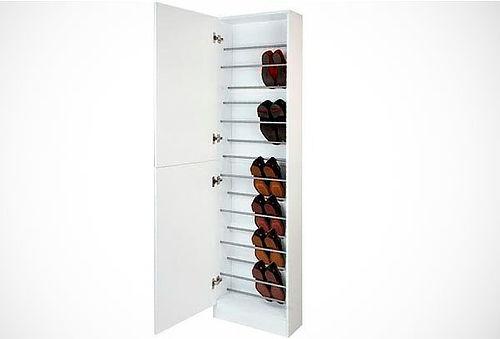 zapatera con espejo 1 o 2 puertas para 18 pares delivery