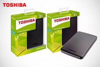 Toshiba Disco Duro Externo 1TB y 2 TB