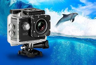 Cámara Filmadora Deportiva de 785 Full HD Acuática