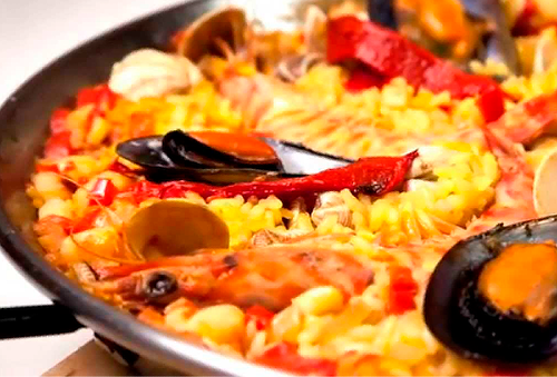 almuerzo Español sexy en Elche