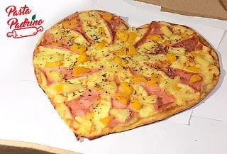 ¡Amor a la Italiana! Pizza Corazón Artesanal para 2 y Más