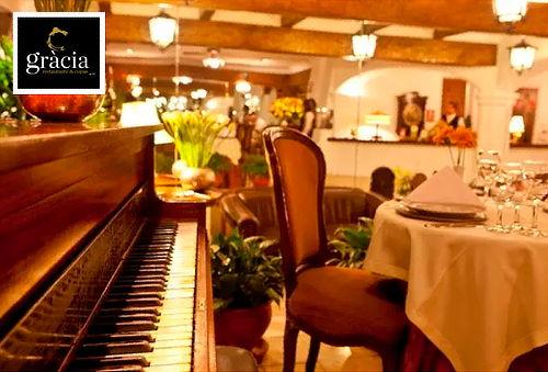Cena Romántica para 2 con Piano en Vivo - Gracia Restaurante