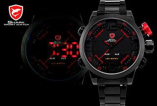 ¡Marca Tendencia! Reloj Deportivo Led SHARK® Modelo Gulper
