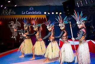 Espectáculos La Candelaria para 02 o 04 Personas