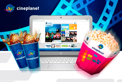 Cineplanet ONLINE + Combo Gigante - Sedes Lima