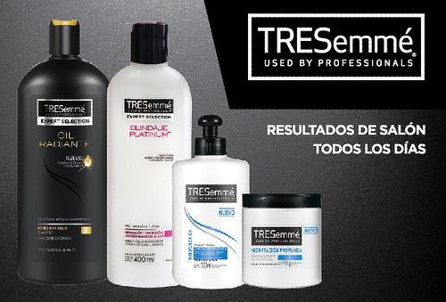 Pack Tresemme: Shampoo + Acondicionador + Tratamiento y Más