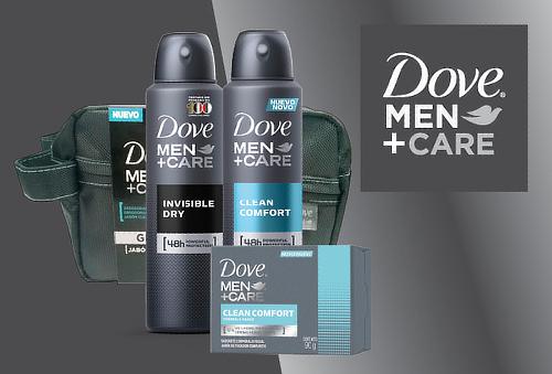 ¡Sorpréndela! 02 Desodorantes Dove Men + 01 Jabón