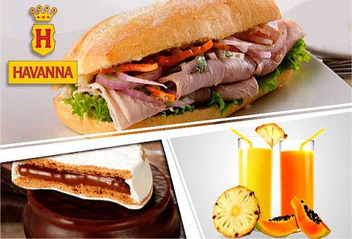 04 Opciones de Sándwich+01 Jugo a Elección y Más- La Havanna
