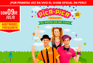 ¡El Patio de mi Casa! Show oficial de PICA PICA