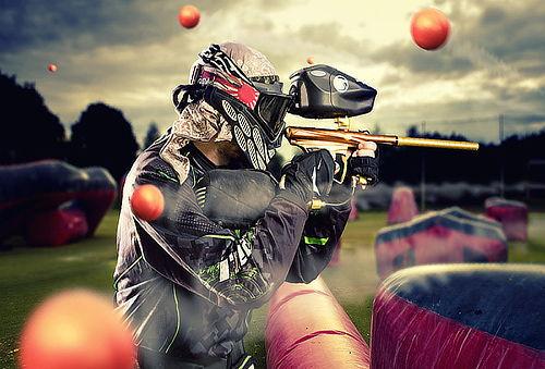 ¡Extremo! 01 Batalla de Paintball para 5