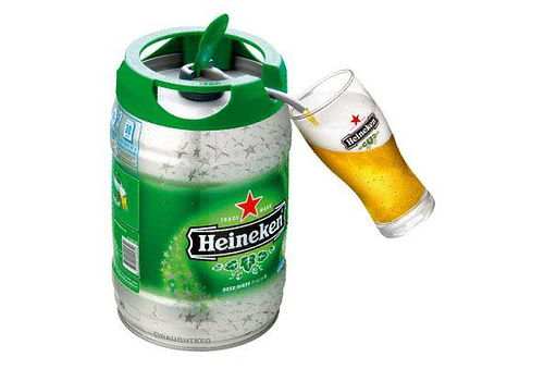 Barril de 5 Litros de Cerveza Heineken | Cuponatic.com.pe