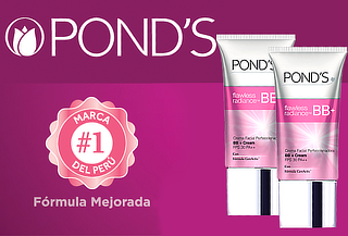 ¡Rostro Perfecto! Pack de 2 Cremas Ponds Flawless Radiance