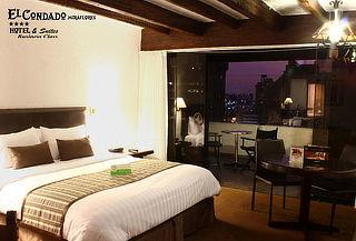 Sin Planes en Fiestas ¡Velada Romántica!  Hotel El Condado