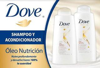 ¡Increible! Pack Dove: Shampoo y Acondicionador 750ml