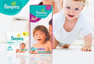 Pañales Pampers Premium Care XG 44 + Toallitas Sensitive
